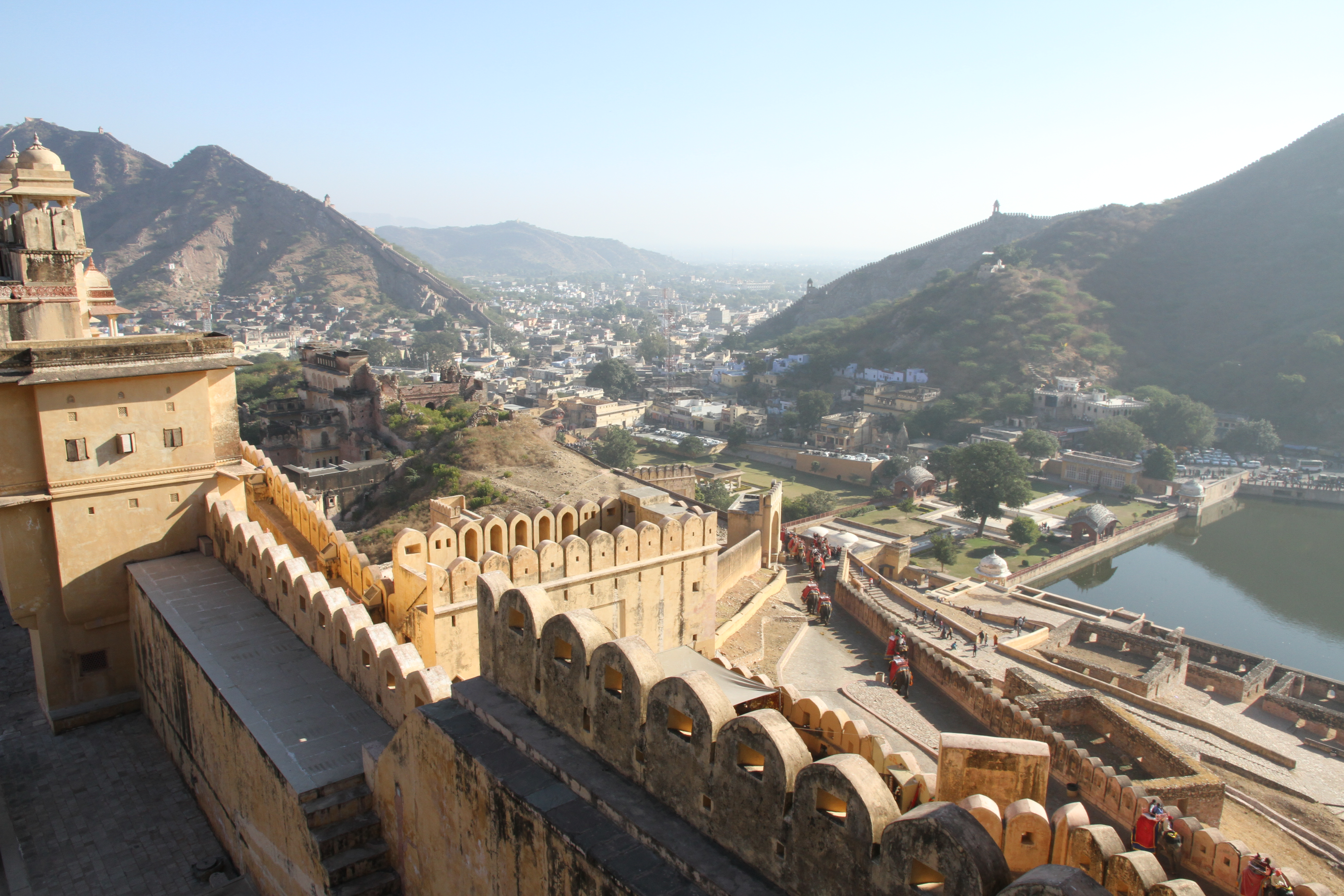 India – Taking It Easy During a Hard Trip