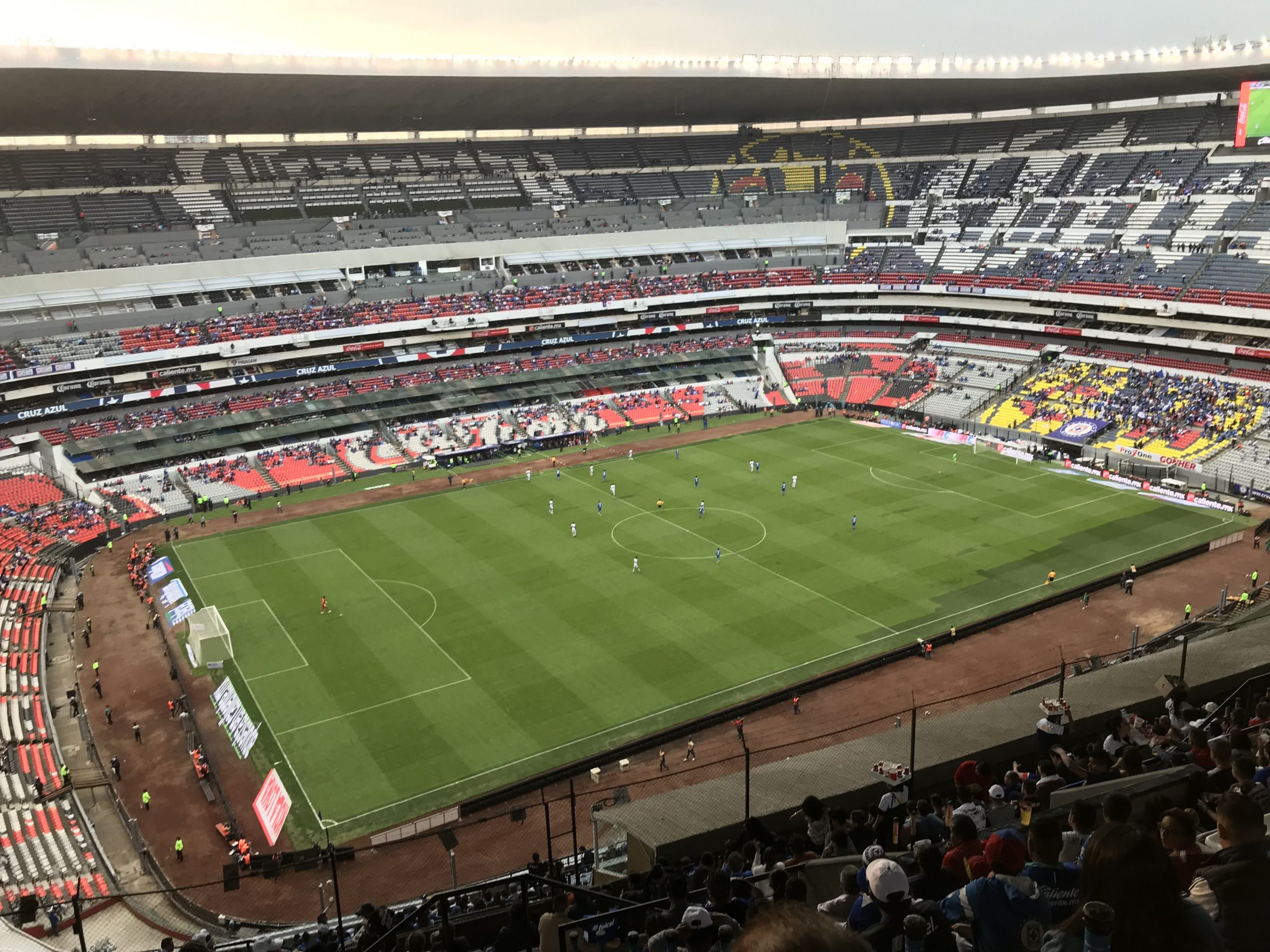 Hand of God and Goal of the Century: Azteca Stadium
