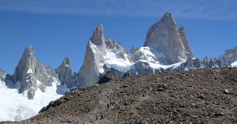 Hiking Into the Sky, Patagonia, Argentina